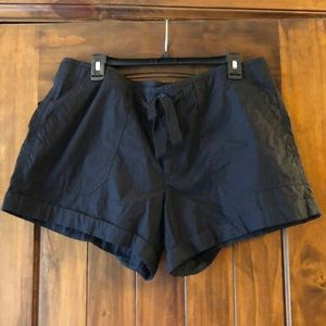 Women's Black Casual shorts